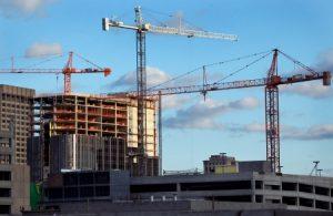 Cranes Over Detroit